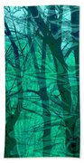 Trees Bath Towel