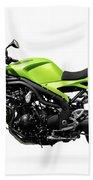 Triumph Speed Triple Motorcycle Bath Towel