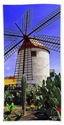 Tropical Windmill Bath Towel