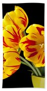Tulip Bouquet  Bath Towel