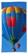 Tulip Hot Air Balloon Bath Towel