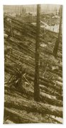 Tunguska Event, 1908 Hand Towel