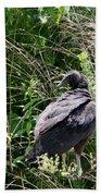 Black Vulture - Buzzard Bath Towel