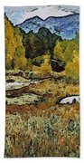 Turrett - Homage Vangogh Bath Towel