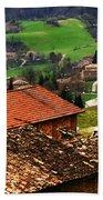 Tuscany Landscape 2 Bath Towel