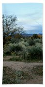 Twilight Near Santa Fe Bath Towel