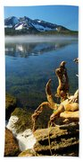 Twisted On The Shore Bath Towel