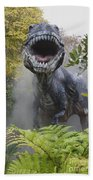 Tyrannosaurus Bath Towel