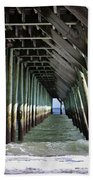 Under The Pier Bath Towel