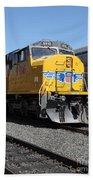Union Pacific Locomotive Trains . 5d18821 Bath Towel