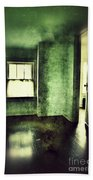 Upstairs Hallway In Old House Bath Towel