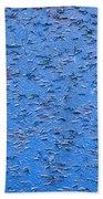Urban Abstract Blue Bath Towel