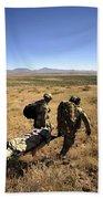 U.s. Air Force Pararescuemen Carry Bath Towel