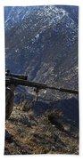 U.s. Army Sniper Provides Security Bath Towel