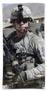 U.s. Army Soldier Conducts A Combat Bath Towel