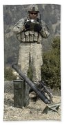 U.s. Army Soldier Gets Information Bath Towel