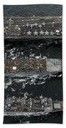 U.s. Navy Ships Conduct A Replenishment Bath Towel