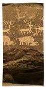 Utah Petroglyphs 1 Bath Towel