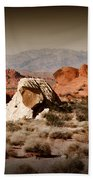 Valley Of Fire Bath Towel