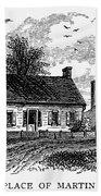 Van Buren: Birthplace Bath Towel