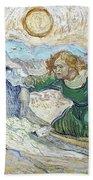 Van Gogh: Lazarus Bath Towel