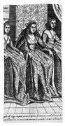 Venetian Women, C1600 Bath Towel