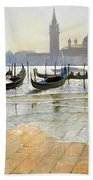 Venice At Dawn Bath Towel