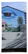 Venice Beach Wall Art 3 Bath Towel