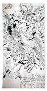 Venus - Mary - Star Of The Sea Bath Towel