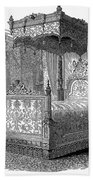 Victorian Bed, 1846 Bath Towel
