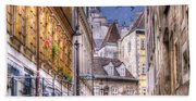 Vienna Cobblestone Alleys And Forgotten Streets Hand Towel