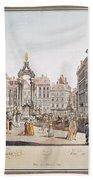 Vienna: Hohemarkt, 1793 Bath Towel