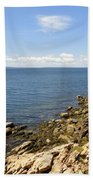 View From Bass Harbor Light Bath Towel