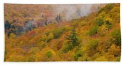 View From North Mountain Look-off Hand Towel