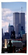 View From The Soldiers And Sailors Arch Brooklyn Bath Towel