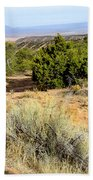 View Of The Desert New Mexico Bath Towel