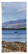 View Of The Isle Of Arran Bath Towel