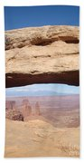 View Through Mesa Arch Bath Towel