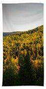 Vignette Of Autumn Gold  Bath Towel
