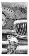 Vintage 1951 Nash Ambassador Front End 2 Bw Bath Towel