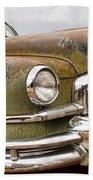 Vintage 1951 Nash Ambassador Front End Bath Towel