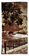 The Red Mill  Bucks County Nj  Bath Towel