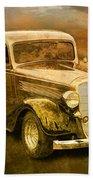 Vintage Automobile No.007 Bath Towel
