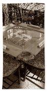 Vintage Domino Table Bath Towel