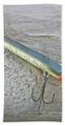 Vintage Fishing Lure - Floyd Roman Nike Lil Sandee Bath Towel