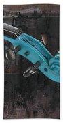 Violinelle - Turquoise 05a2 Bath Towel