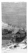 Virginia: Salt Mine, 1857 Bath Towel