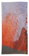 Volcanic Eruption, Spatter Cone Bath Towel