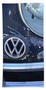 Volkswagen Vw Emblem Bath Towel