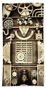 Vulcan Steel Steampunk Bath Towel